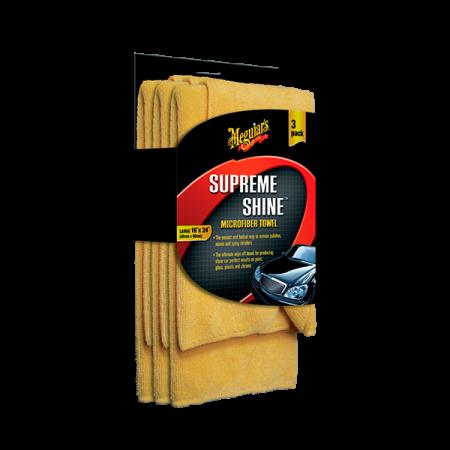 SUPREME SHINE MICROFIBER TOWEL (3PACK)