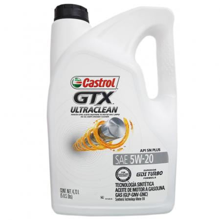CASTROL GTX ULTRACLEAN 5W-20