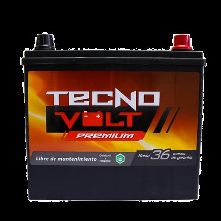 51R TECNO PREM CCA 500/N40L 75AMP, 60AH {-/+}