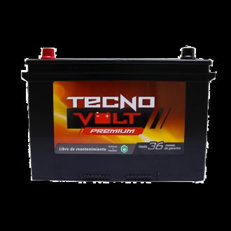27 TECNO PREM CCA 600/N70Z 90AMP, 75AH {+/-}
