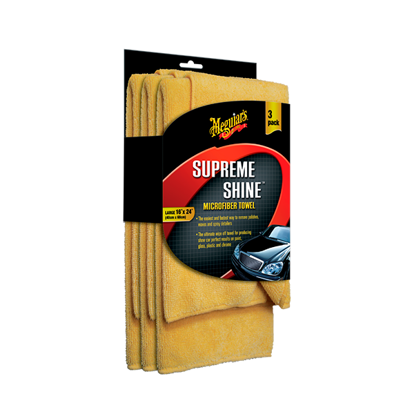 SUPREME SHINE MICROFIBER TOWEL (3PACK) 1