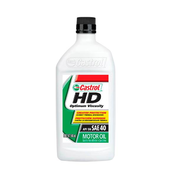 CASTROL HD MOTOR OIL 40 1