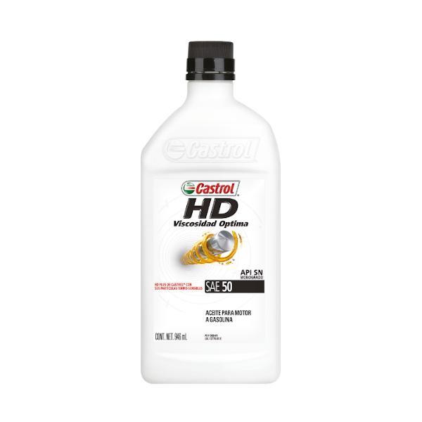 CASTROL HD MOTOR OIL 50 1