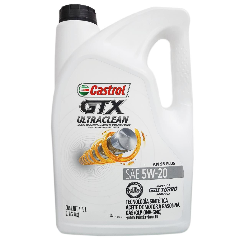 CASTROL GTX ULTRACLEAN 5W-20 1