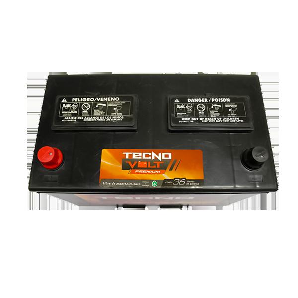 27 TECNO PREM CCA 600/N70Z 90AMP, 75AH {+/-} 2