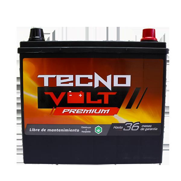 51R TECNO PREM CCA 500/N40L 75AMP, 60AH {-/+} 1