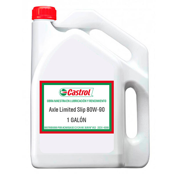 CASTROL AXLE LIMITED SLIP 80W-90 1