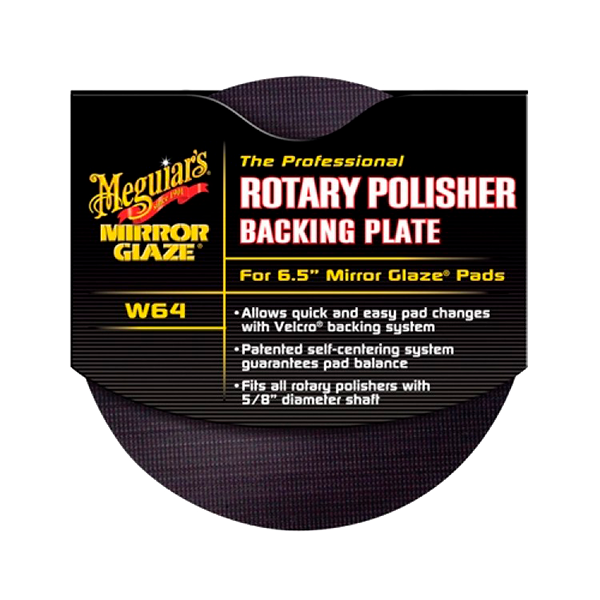 ROTARY BACKING PLATE 1